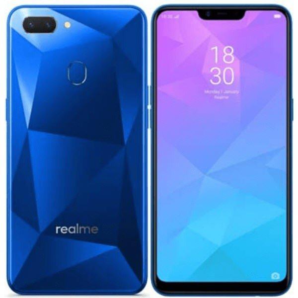 ريلمي 2 ازرق, شاشة وظهر الهاتف اوبو ريلمي 2, اوبو ريلمي 2 كريستالي الخلفية, الكاميرا الخلفية والامامية للهاتف ريلمي 2